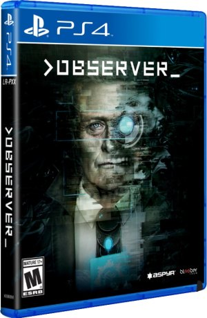 observer bloober team aspyr media limitedrungames.com limitedgamenews.com ps4 cover