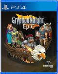 Gryphon Knight Epic Strictly Limited Games PS4 Cover