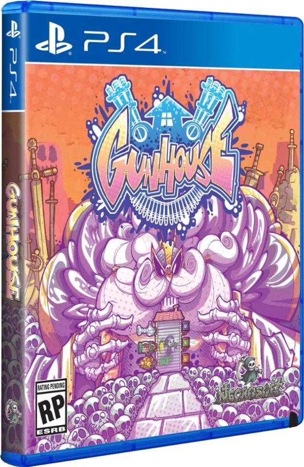 gunhouse limitedrungames.com limitedgamenews.com ps4 ps vita cover