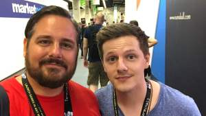 gamescom 2018 - me and twitter legend toadsanime