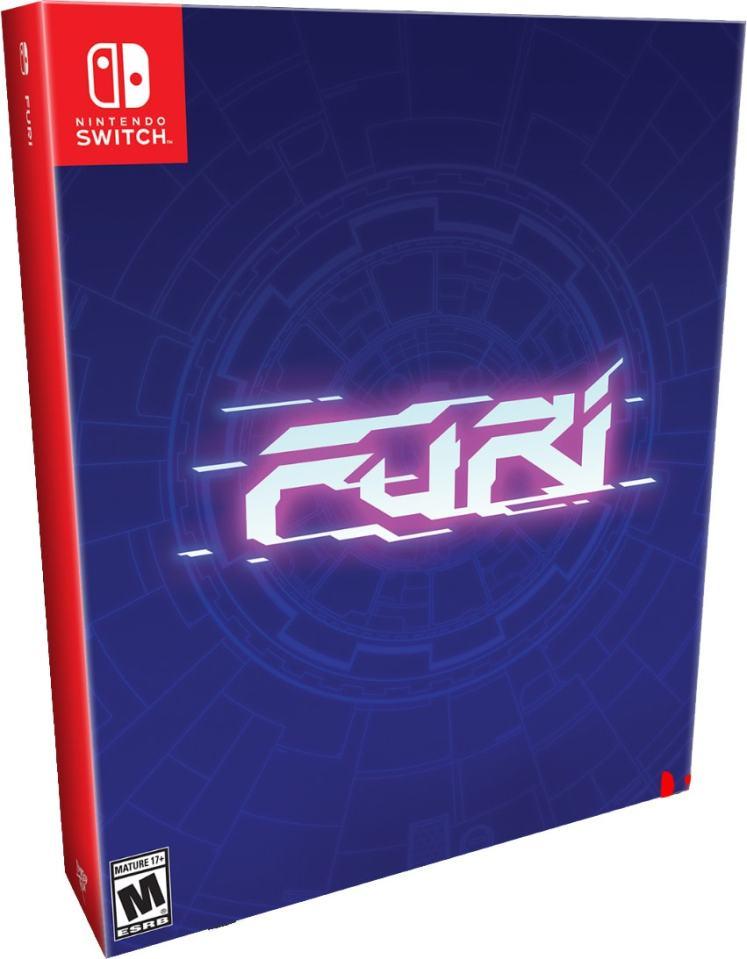 furi collectors edition limitedrungames.com limitedgamenews.com nintendo switch cover