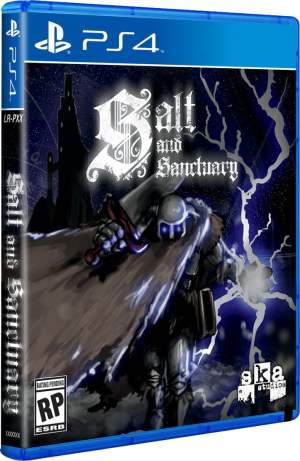 salt and sanctuary limitedrungames.com limitedgamenews.com ps4 cover
