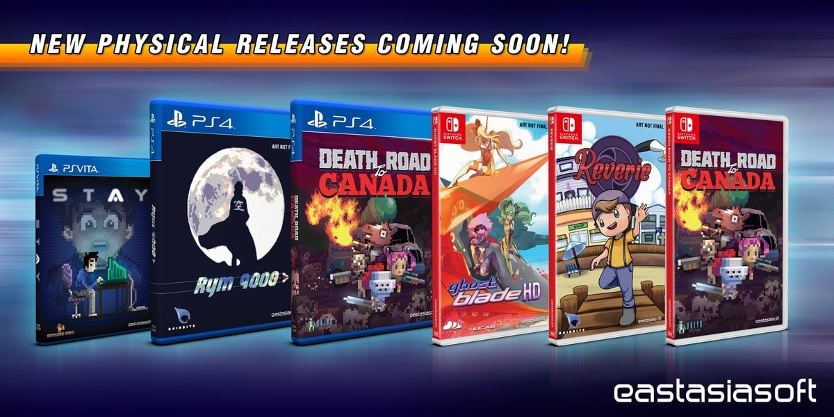TGS 2018 Play-Asia Physical Game Announcements - LGN
