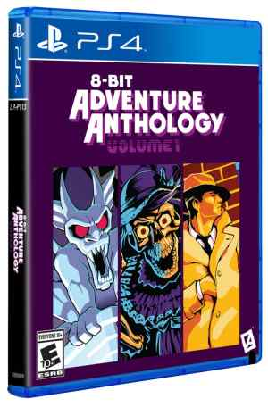 8-bit adventure anthology volume 1 limitedgamenews.com ps4 cover