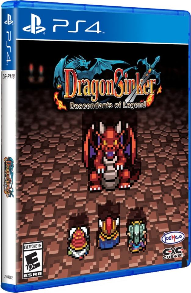 dragon sinker descendants of legend ps4 ps vita cover limitedgamenews.com