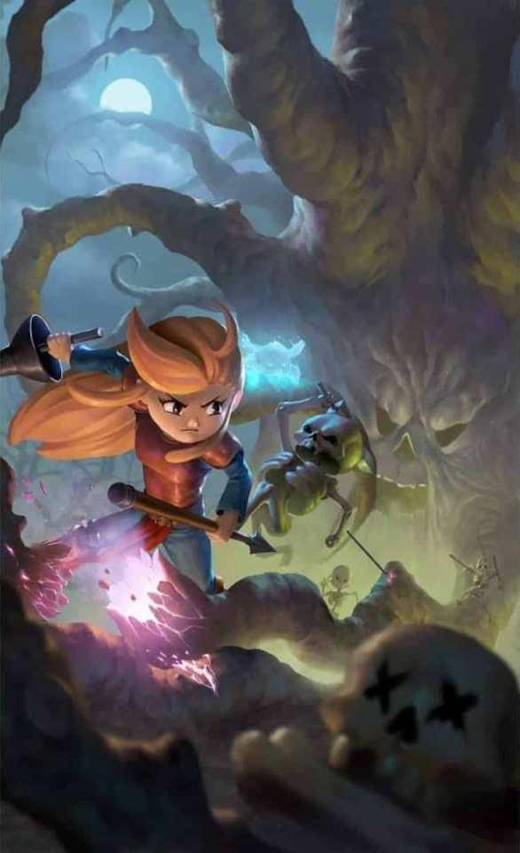 battle princess madelyn multilanguage nintendo switch ps4 cover limitedgamenews.com