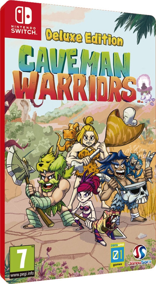 caveman warriors deluxe edition nintendo switch cover limitedgamenews.com