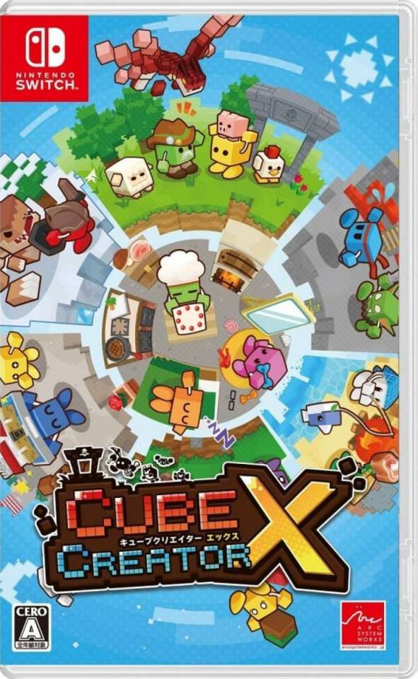 cube creator x nintendo switch cover limitedgamenews.com