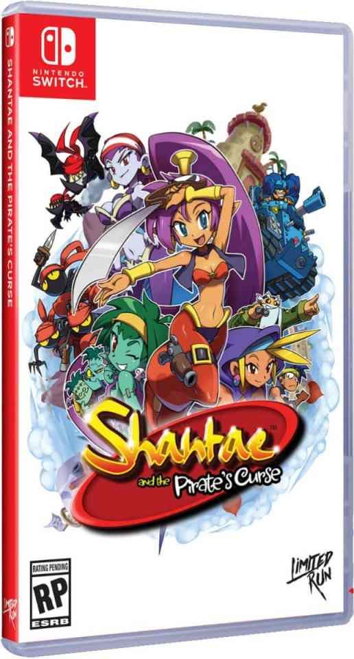 shantae and the pirates curse nintendo switch cover limitedgamenews.com