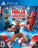 american ninja warrior challenge ps4 cover limitedgamenews.com