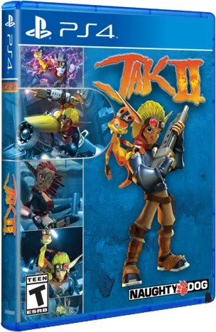 jak ii limited run games ps4 cover limitedgamenews.com