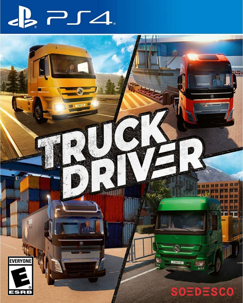 truck driver ps4 gameplay