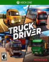 truck driver soedesco xbox one cover limitedgamenews.com