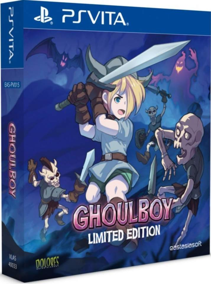 ghoulboy limited edition eastasiasoft ps vita cover limitedgamenews.com