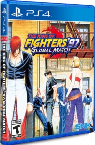 king of fighters 97 global match limited run games ps4 cover limitedgamenews.com