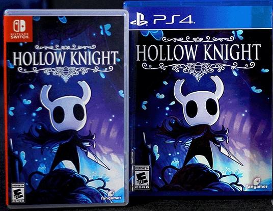 hollow knight fangamer retail ps4 nintendo switch cover limitedgamenews.com