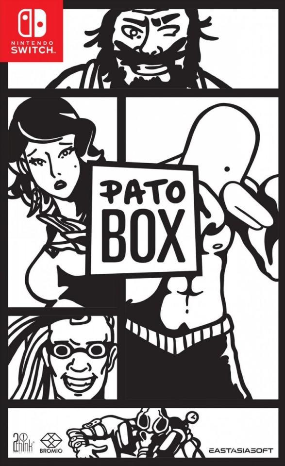 pato box standard edition asia multi-language nintendo switch cover limitedgamenews.com