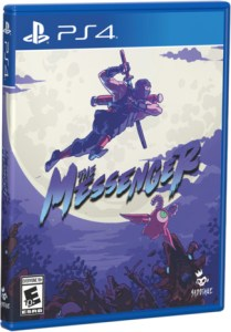 the messenger special reserve games variant ps4 cover limitedgamenews.com