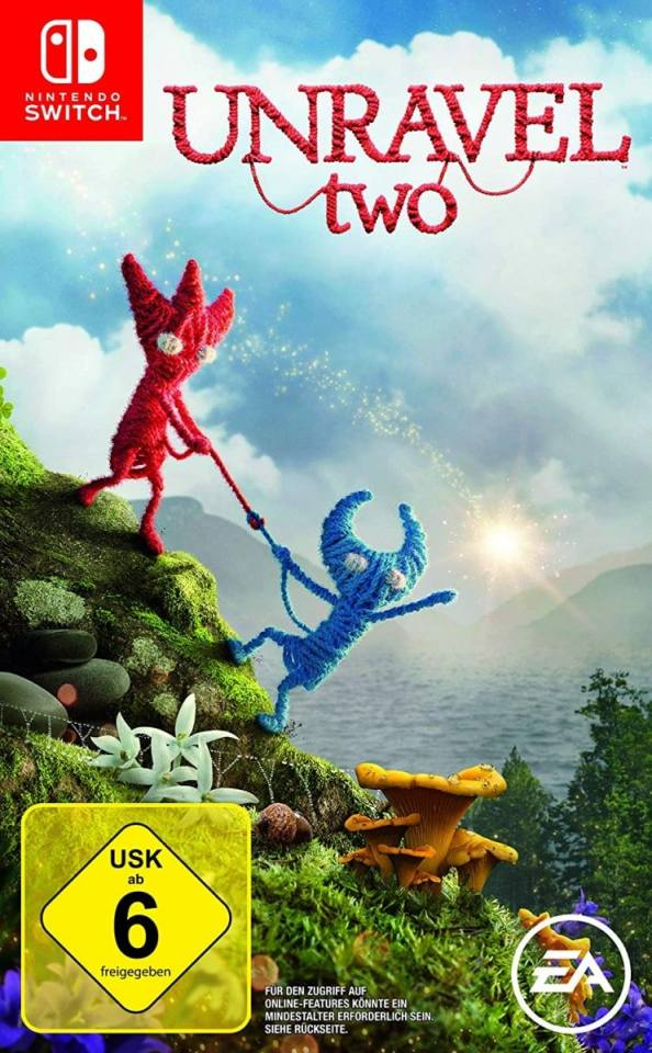 unravel two eu exclusive retail nintendo switch cover