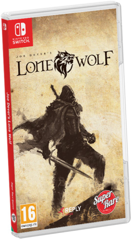 joe devers lone wolf retail super rare games nintendo switch cover limitedgamenews.com
