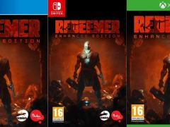 redeemer enhanced edition retail ps4 nintendo switch xbox one cover limitedgamenews.com
