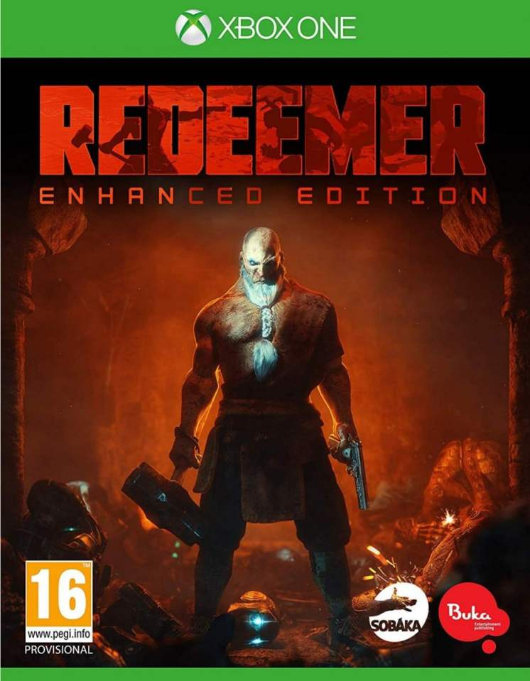 redeemer enhanced edition retail xbox one cover limitedgamenews.com