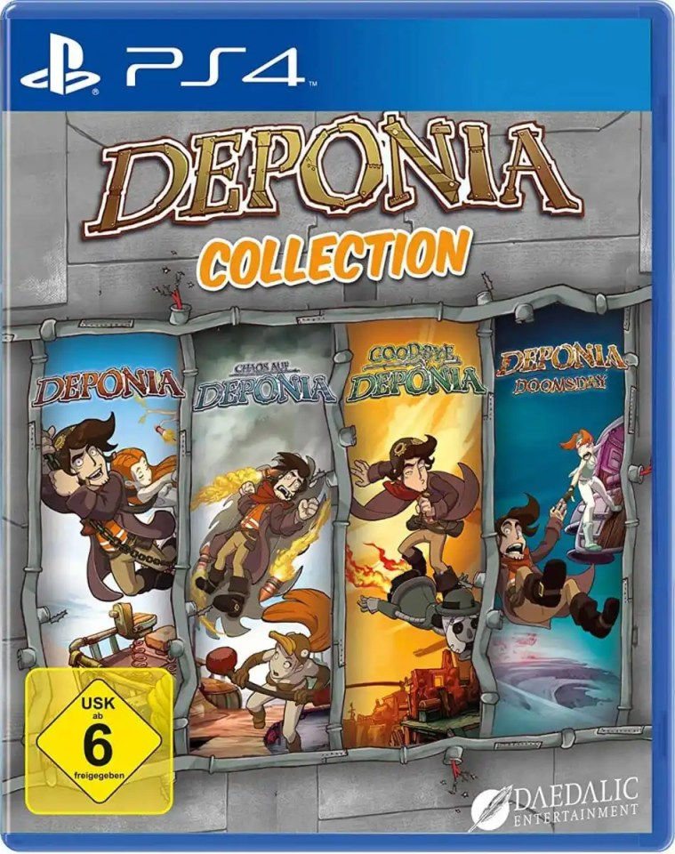 deponia collection daedalic retail ps4 cover limitedgamenews.com
