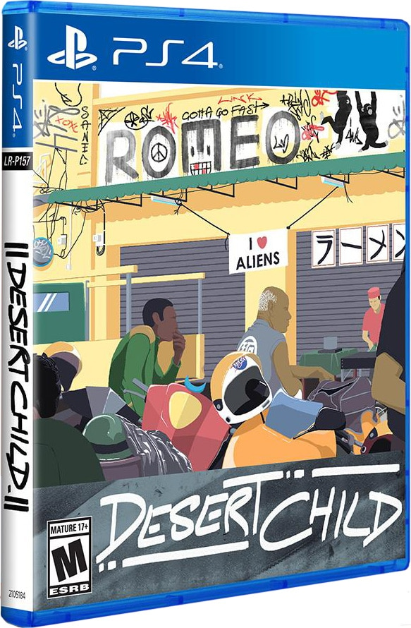 desert child retail limited run games ps4 cover limitedgamenews.com
