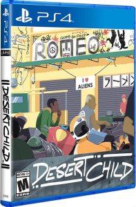 desert child retail limited run games ps4 cover limitedgamenews.com