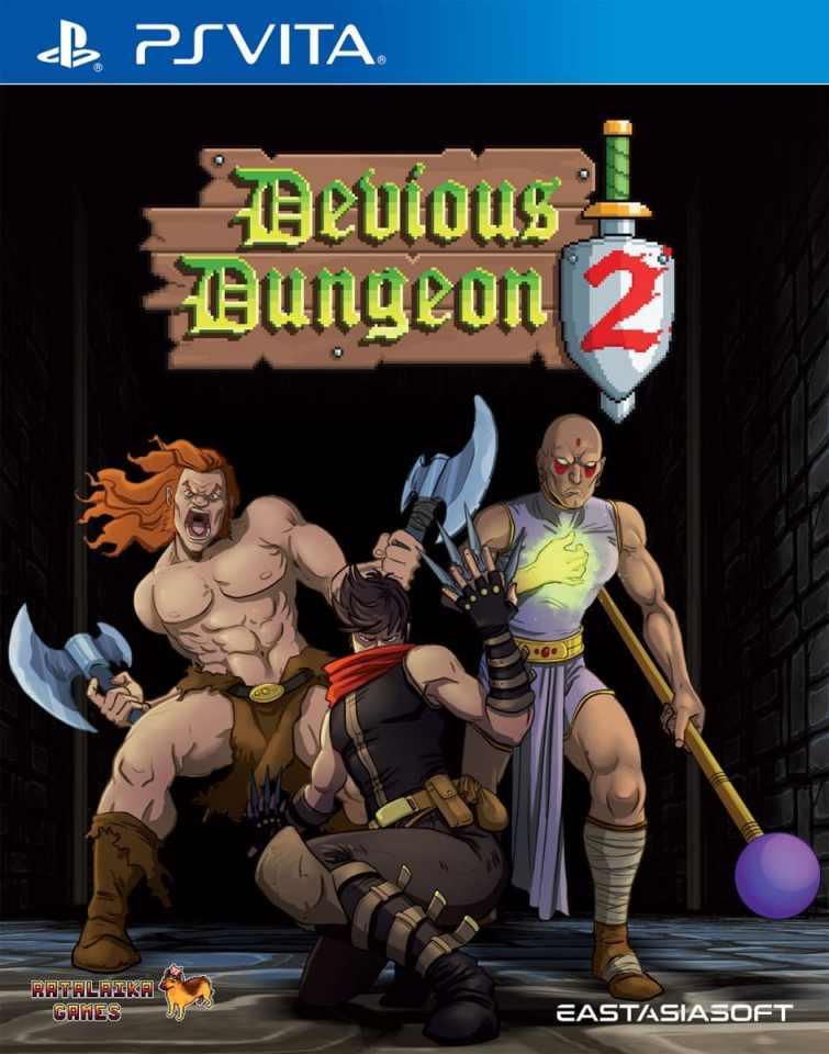 devious dungeon 2 limited edition asia multi-language retail eastasiasoft ps vita cover limitedgamenews.com