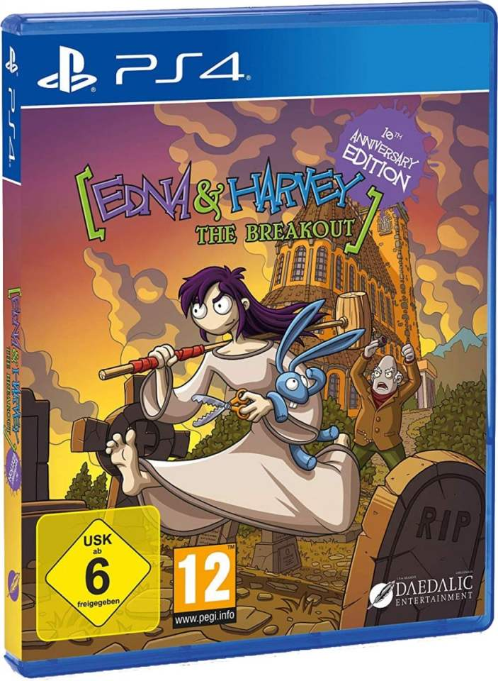 edna and harvey the breakout remake daedalic retail ps4 cover limitedgamenews.com