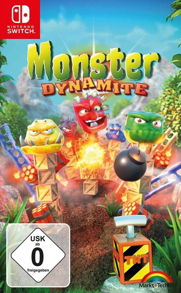 monster dynamite retail nintendo switch cover limitedgamenews.com