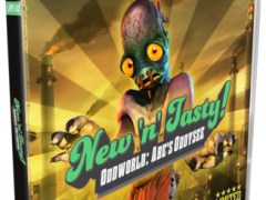 oddworld abes oddysee new n tasy standard edition retail limited run games ps3 cover limitedgamenews.com