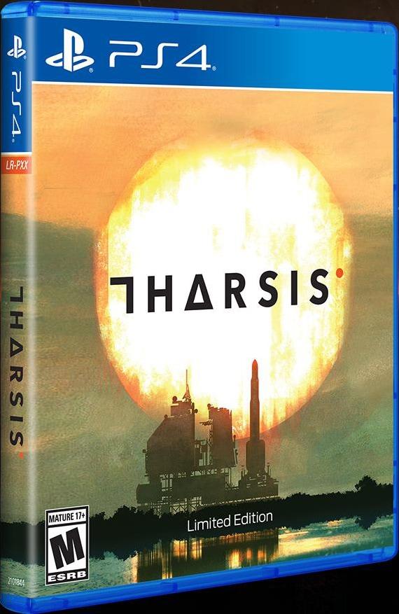 tharsis retail limited run games ps4 cover limitedgamenews.com
