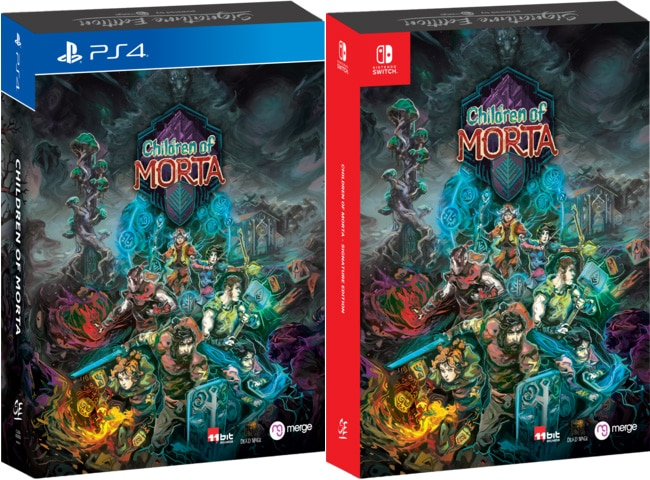 children of morta signature edition retail ps4 nintendo switch cover limitedgamenews.com