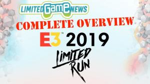 e3 2019 limited run games 2