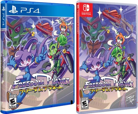 freedom planet retail limited run games ps4 nintendo switch cover limitedgamenews.com