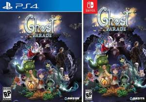 ghost parade retail aksys games nintendo switch ps4 cover limitedgamenews.com
