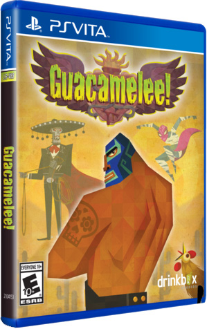guacamelee retail limited run games ps vita cover limitedgamenews.com