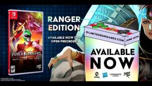 limited run games e3 2019 announcements 016 power rangers battle for the grid ps4 nintendo switch limitedgamenews.com