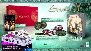 limited run games e3 2019 announcements 033 shenmue iii pc ps4 collectors edition limitedgamenews.com