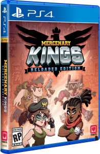 mercenary kings reloaded edition retail standard edition limited run games ps4 cover limitedgamenews.com