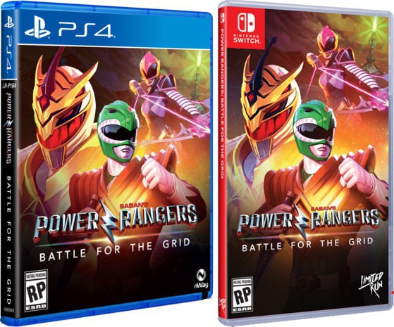 power rangers battle for the grid standard edition retail limited run games ps4 nintendo switch cover limitedgamenews.com