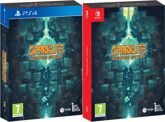 sparklite signature edition retail ps4 nintendo switch cover limitedgamenews.com
