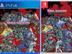 the ninja saviors return of the warrior retail strictly limited games ps4 nintendo switch cover limitedgamenews.com