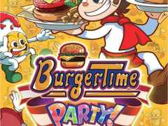 burgertime party retail nintendo switch cover limitedgamenews.com