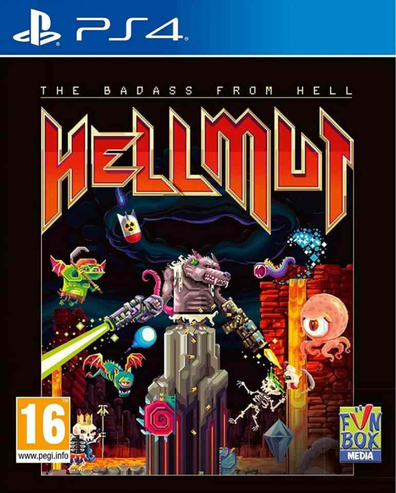 hellmut the badass from hell retail ps4 cover limitedgamenews.com