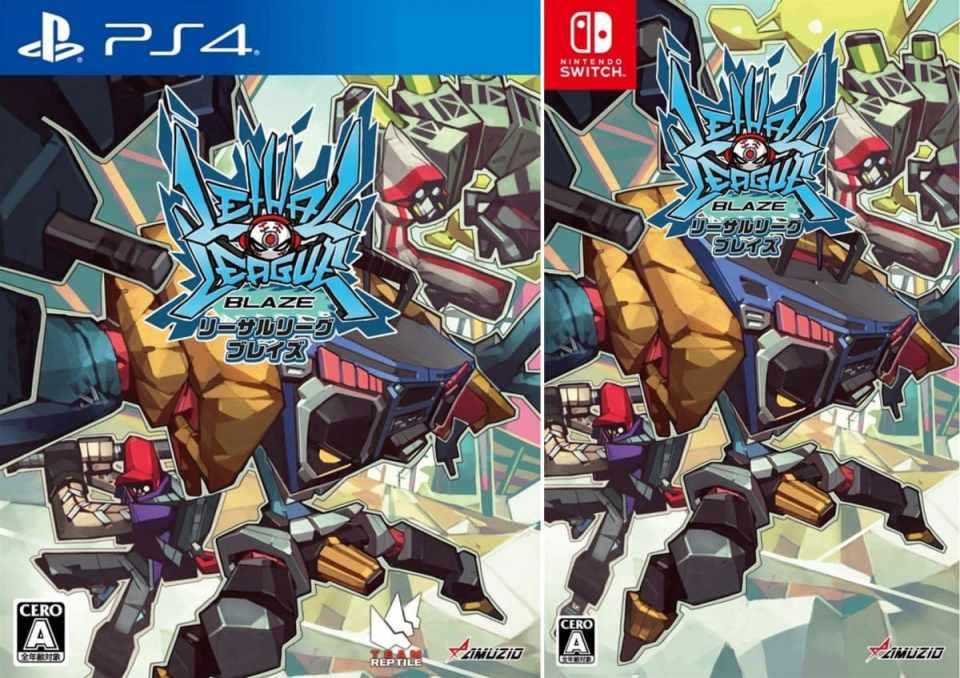 lethal league blaze asia multi-language retail ps4 nintendo switch cover limitedgamenews.com