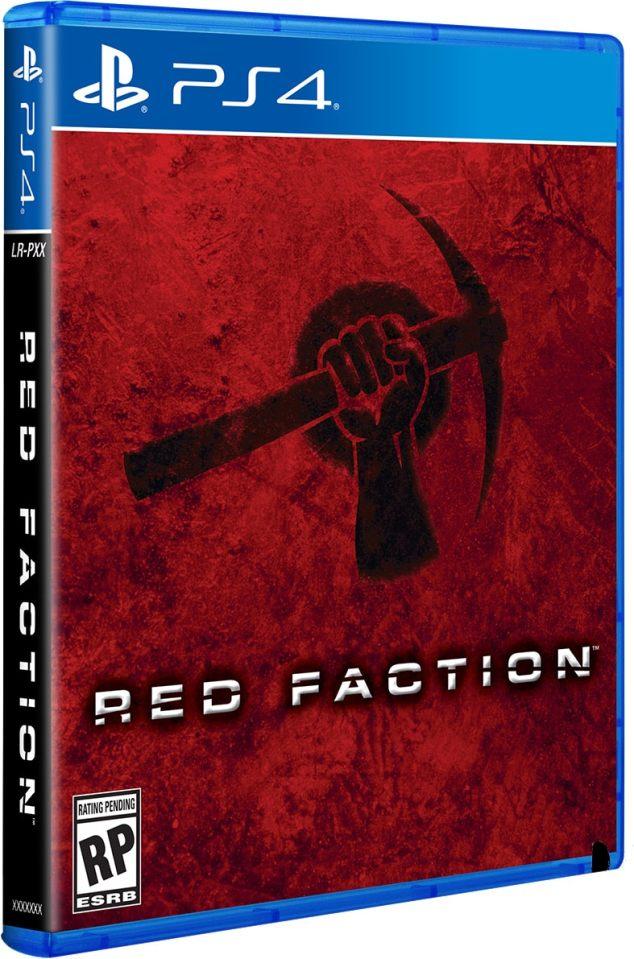 red faction standard edition retail limited run games ps vita cover limitedgamenews.com