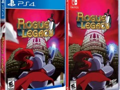 rogue legacy retail limited run games ps4 nintendo switch cover limitedgamenews.com